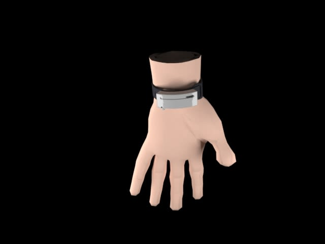This wearable hand sanitizer entry did not win, but I like the concept. It is 3D printable and has no electronic components, yet users can attach it with standard wristbands and have a supply of sanitizer at their disposal. Press the button to sanitize one hand and repeat the process with the opposite hand. (Image courtesy of Cad Crowd user Abdul Tanzeel.)