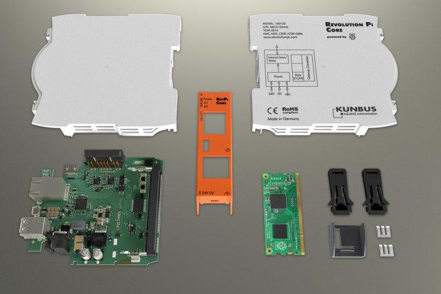 KUNBUs Revolution Pi Core. (Image courtesy of KUNBUS.)