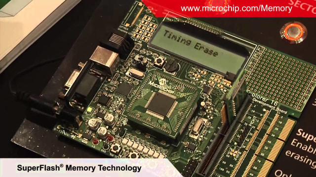 SuperFlash memory systems. (Image courtesy of Microchip.)