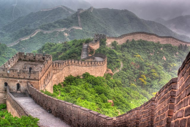 A Ming-era section of the Great Wall. (Image courtesy of iExplore.)