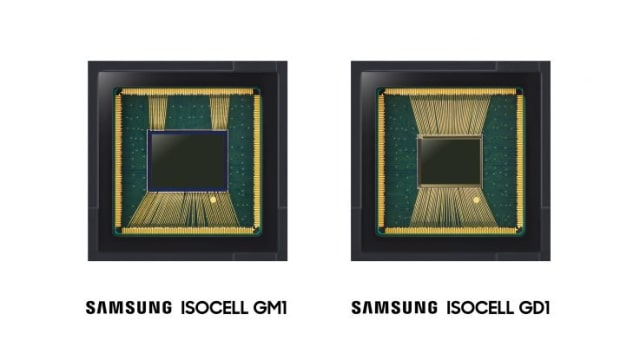 ISOCELL GM1 and GD1 sensors. (Image courtesy of Samsung.