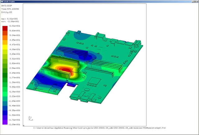 Sherlock Automated Design Analysis software. (Image courtesy of DfR Solutions.)