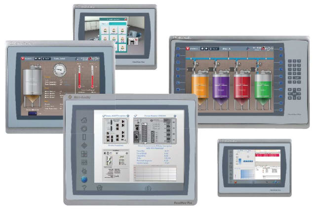 PanelView 5510 Graphic Terminals. (Image courtesy of Rockwell Automation.)