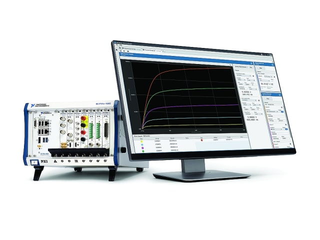 InstrumentStudio software. (Image courtesy of National Instruments.)