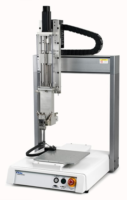 Meter Series XYZ Robot Dispensing System. (Image courtesy of Nordson.)
