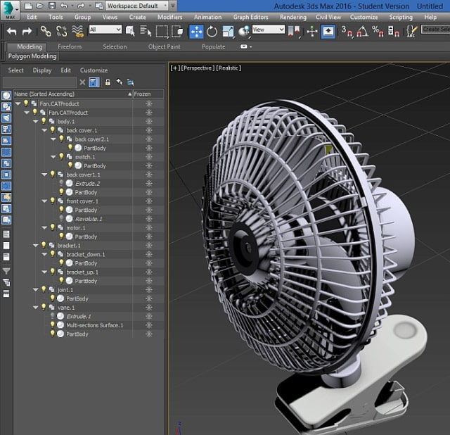 3D modeling applications like 3ds Max don't use multi-threading for viewports and other features. Multi-threading means using all processors and cores. Not every feature of 3ds Max can be programmed to work expeditiously by dividing up tasks among the CPU cores. (Image courtesy of Autodesk.)