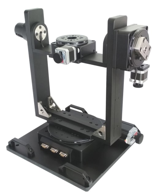 AU300-AER Three-axis Gimbal Mount. (Image courtesy of Optimal Engineering Systems.)