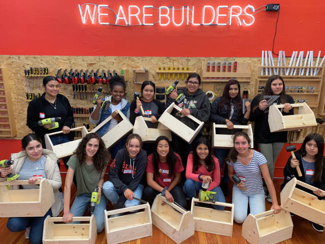 Emily Pilloton and her team of instructors teach design and building classes in a supportive all-female environment at the Girls Garage.