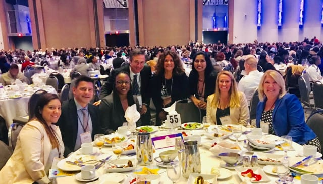 Siemens team at Women of Color STEM Conference, Detroit, Mich., October 2018.
