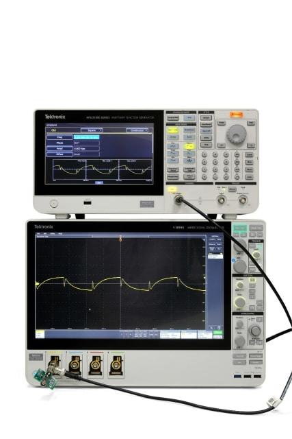 AFG31000 arbitrary/function generator. (Image courtesy of Tektronix.)