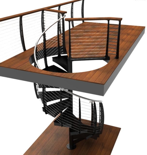 Stepping Up Using Interactive Simulation For Custom Stairs And Railings Engineering Com