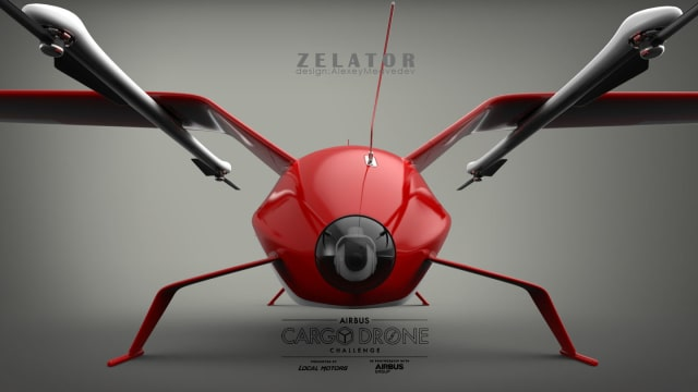 Designed by community member Alexey Medvedev, the Zelator won his creator $50,000. (Image courtesy of Launch Forth.)