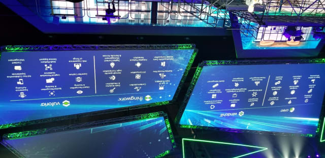 Summary of PTC's product offerings for digital transformation.