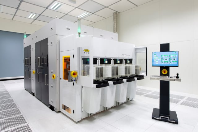 BONDSCALE Automated Production Fusion Bonding System. (Image courtesy of EVG.)