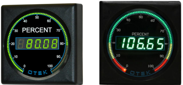 Otek Solid State Analog Meter. (Image courtesy of Otek.)