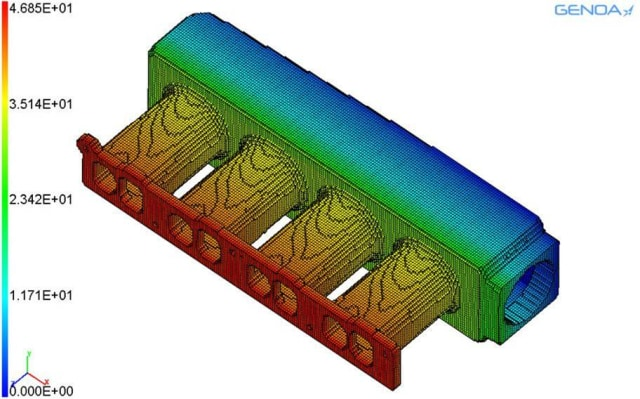 Figure 4. GENOA3DP failure analysis. (Image courtesy of AlphaStar Corp.)