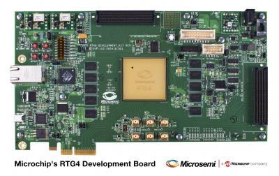 RTG4 development board. (Image courtesy of Microsemi.)