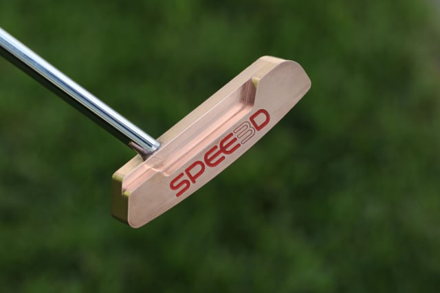 The completed 3D-printed putter. (Image courtesy of SPEE3D.)