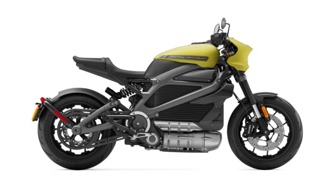 That's a Harley? The Harley-Davidson LiveWire electric motorbike. (Picture courtesy of Harley-Davidson.)