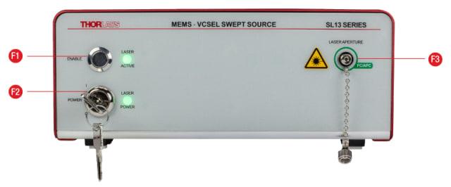 MEMS‐VCSEL Swept‐wavelength laser source. (Image courtesy of Thorlabs.)