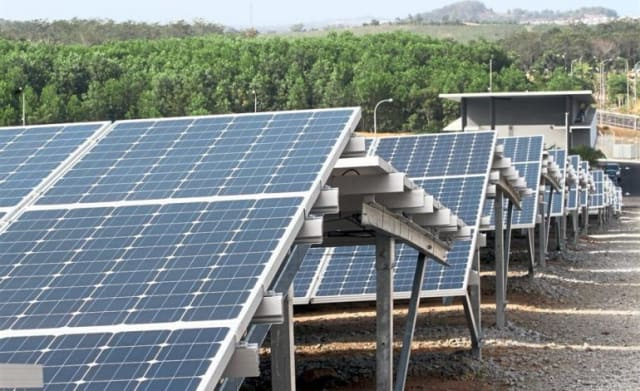 One of the new solar projects springing up around Kudat. (Image courtesy of Filepic.)