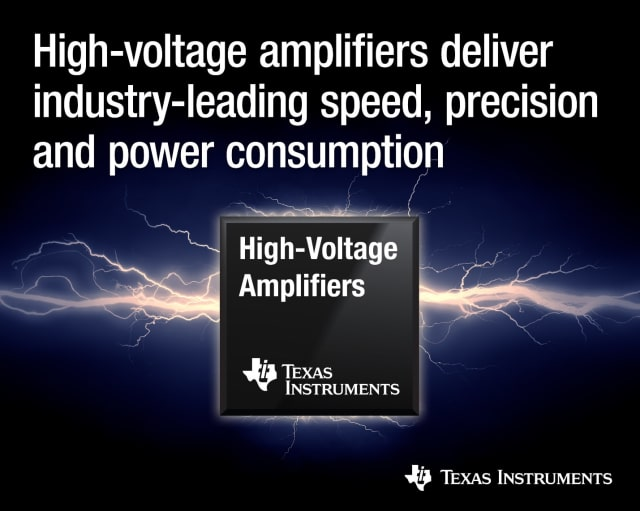OPA2810 amplifier. (Image courtesy of Texas Instruments.)