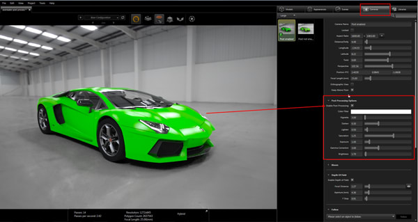 SOLIDWORKS Visualize is mutable in terms of using CPU cores, CUDA cores (on NVIDIA GPUs), or a hybrid that users run of just a single GPU or multiple GPUs. With an NVIDIA Quadro P2000 installed in the APEXX BOXX SE, SOLIDWORKS Visualize will work well with simple and complex assemblies, though extremely large and complex assemblies may push beyond the capability of the GPU and cause the system to revert to using the CPU, which is much slower at rendering. (Image courtesy of Dassault Systèmes.)