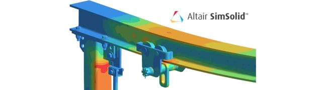 Altair acquired SimSolid, and now claims to be as revolutionary a solver as ANSYS Discovery Live. (Image courtesy of Altair.)