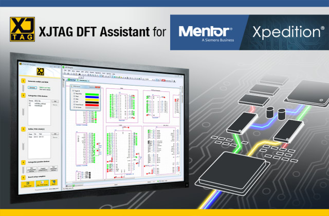 XJTAG DFT Assistant. (Image courtesy of XJTAG.)