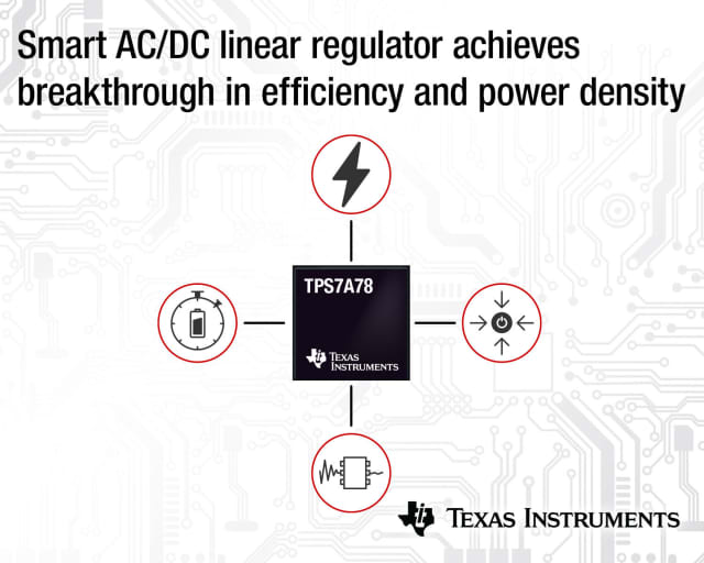 TPS7A78 linear regulator. (Image courtesy of Texas Instruments.)