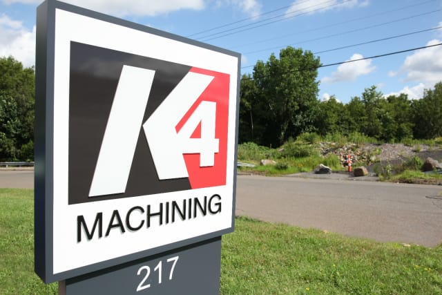 K4 Machining is a new precision parts manufacturer located in Waterbury. (Image courtesy of K4 Machining.)