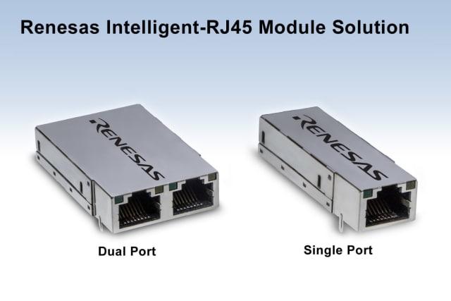 I-RJ45 Ethernet module. (Image courtesy of Renesas.)