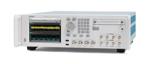 AWG70000B arbitrary waveform generator. (Image courtesy of Tektronix.)