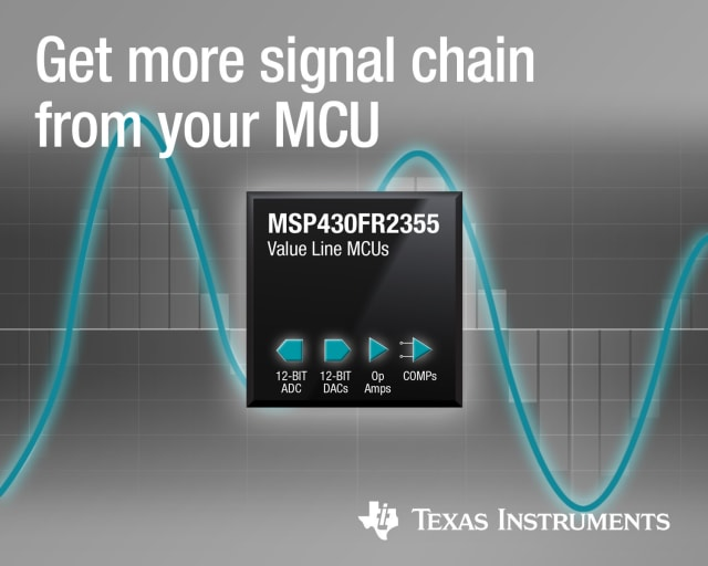 MSP430 line of MCUs. (Image courtesy of Texas Instruments.)