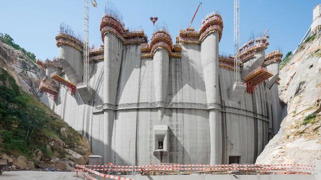 The Foz Tua Dam. (Image courtesy of PERI Group.)