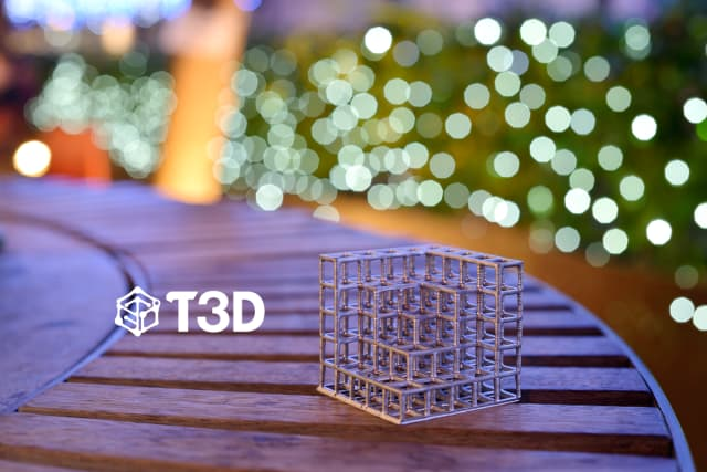 A 3D-printed model from the T3D 3D printer. (Image courtesy of Taiwan 3D Tech.)