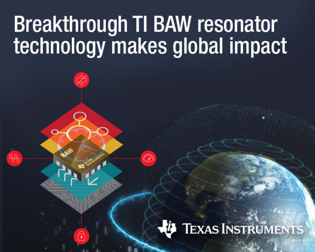 BAW resonator. (Image courtesy of Texas Instruments.)