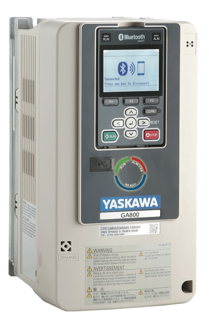 GA800 drive. (Image courtesy of Yaskawa.)