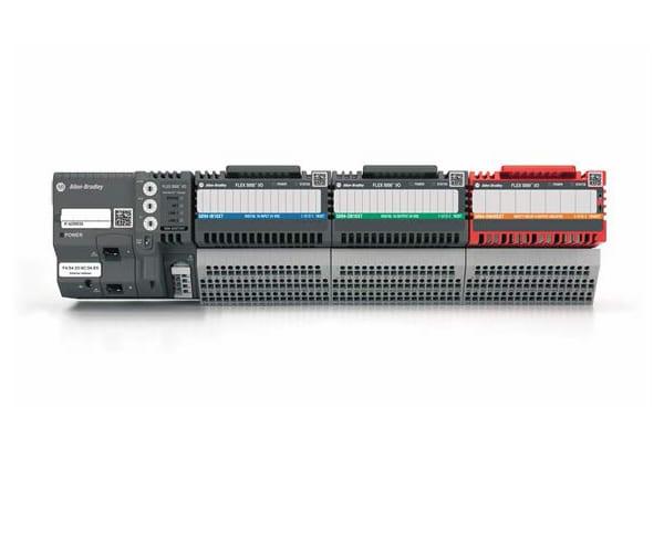 Allen-Bradley FLEX 5000 I/O Platform. (Image courtesy of Rockwell Automation.)