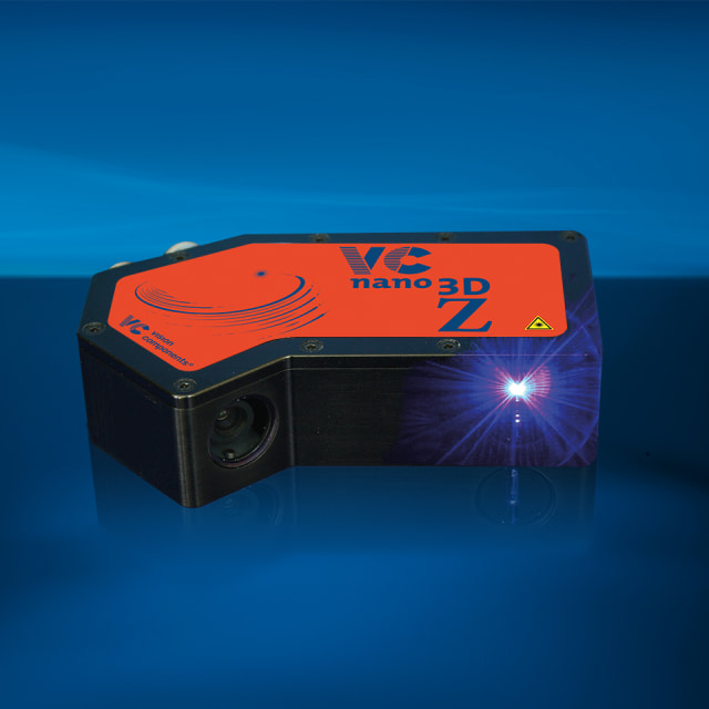 VCnano3D-Z-series laser scanner. (Image courtesy of Vision Components.)
