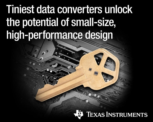 ADS122C04 data converter. (Image courtesy of Texas Instruments.)