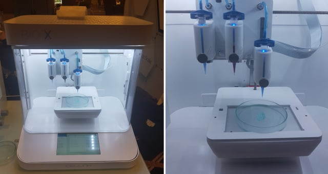 Figure 5.BIO X Bioprinter, which has a nice design. (Image courtesy of the author.)