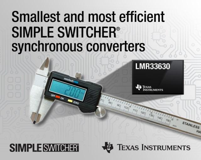 SIMPLE SWITCHER DC/DC buck regulators. (Image courtesy of Texas Instruments.)