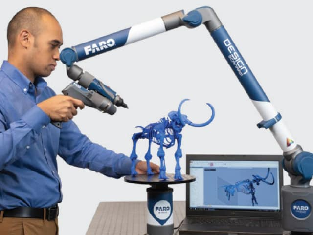 FARO 3D scanning tools in action. (Image courtesy of FARO.)