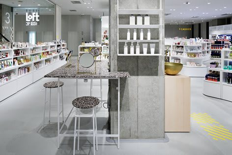 For Japanese store Loft, DUS and Aectual produced exclusively 3D-printed furniture. (Image courtesy of DUS Architects.)