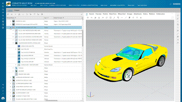 Planning a car's design. (Image courtesy of Siemens Software.)