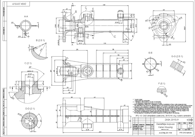 Figure 1. An Olympic CAD contest task from the fall2015 semester.