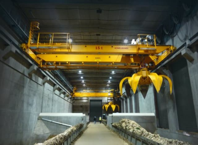 A Konecranes heavy lifting device. (Image courtesy of Konecranes).