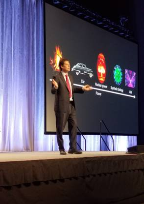 Max Tegmark was on fire during his presentation at LiveWorx 2019.