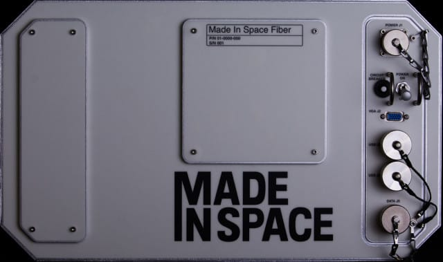 "A picture of ""Made In Space Fiber,"" the device that will produce optic fibers aboard the ISS. (Image courtesy of Made In Space.)"